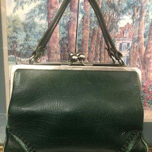 Burberry Bags - Vintage Green Burberry Women Handbag